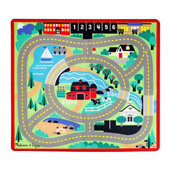 Melissa & Doug Round The Town Rug