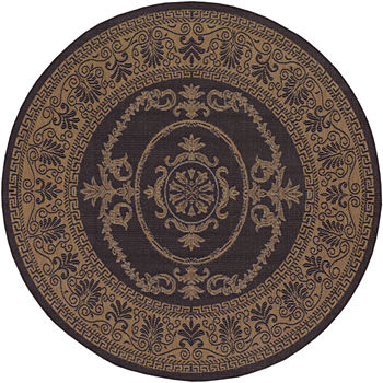 9 Ft Square Round Outdoor Rugs Doormats For The Home Jcpenney