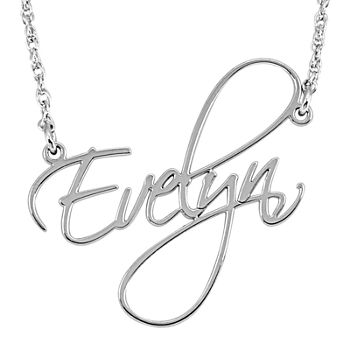 fb2dd0ca2 Necklaces + Pendants Name, Initial & Monogram for Jewelry & Watches ...