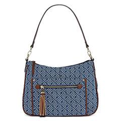 Liz Claiborne Julie Top Zip Shoulder Bag
