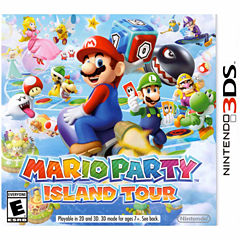 Mario Party Island Tour Video Game-Nintendo 3DS