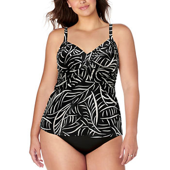 74a21c8db1 Plus Size Swimsuits & Cover-ups for Women - JCPenney