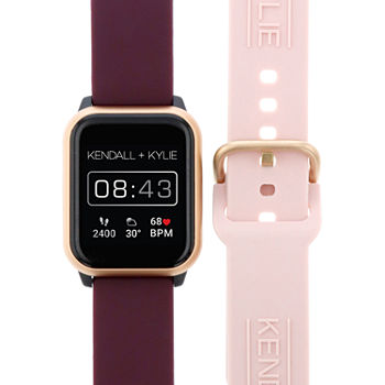 Kendall + Kylie Womens Multi-Function Red Smart Watch-900109r-42-O13