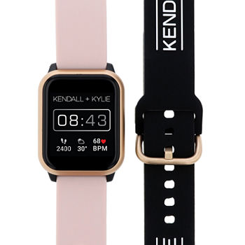 Kendall + Kylie Womens Multi-Function Pink Smart Watch-900111r-42-P02