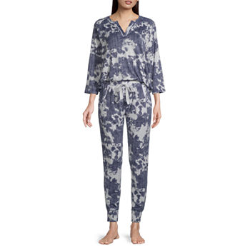 Jaclyn Womens Pant Pajama Set 2-pc. 3/4 Sleeve