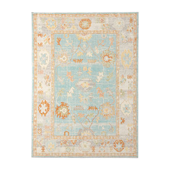 Amer Rugs Bethleham Issa Tropical Rectangular Indoor/Outdoor Rugs