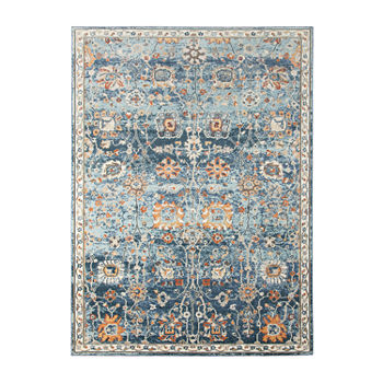 Amer Rugs Bethleham Cerr Floral Rectangular Indoor/Outdoor Rugs