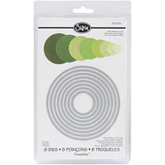 Sizzix® Framelits™ Dies, 8-pc. Circles Set