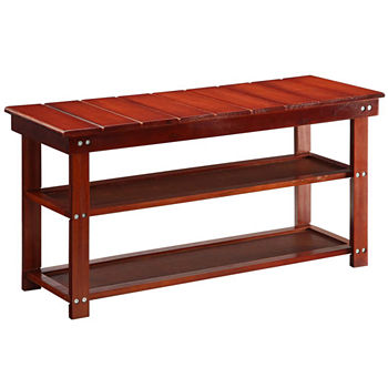 rack storage wooden hazelwood cabinet shelf wood shelves new fussen with furniture seat bench home hallway pair shoe itm