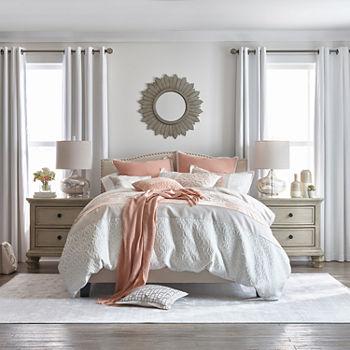 JCPenney Home Trellis 10-pc. Floral Comforter Set