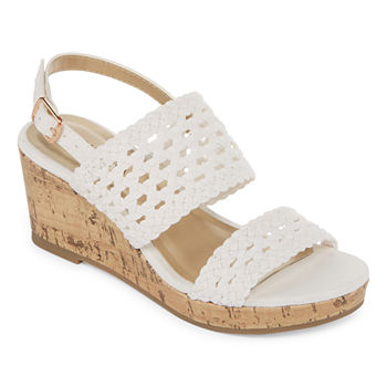 1d5f6a11c98c CLEARANCE Wedge Sandals Girls Shoes for Shoes - JCPenney