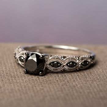 Midnight Black Diamond 1 1/4 CT. T.W. Black Diamond Ring