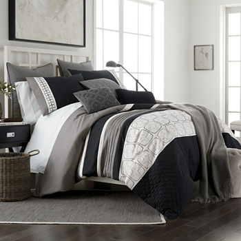 Jcpenney Home Emmett 10 Pc Embroidered Comforter Set