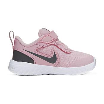 Nike Revolution 5 Toddler Girls Running Shoes