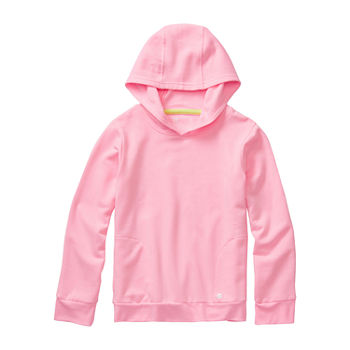 Xersion Fleece Little & Big Girls Hoodie