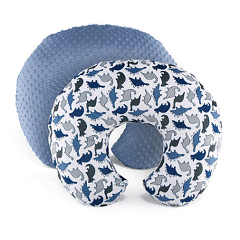 The Peanut Shell 2-Pack Nursing Pillow Covers