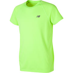 New Balance Short Sleeve Crew Neck T-Shirt-Preschool Boys