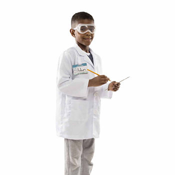 Melissa & Doug Scientist Role Play Set Unisex Costume