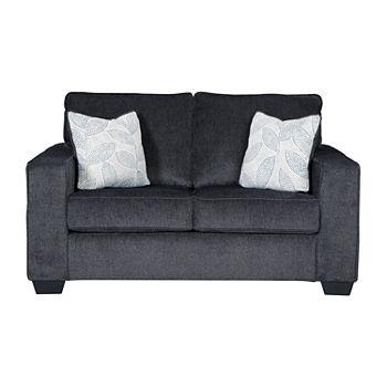 Terrific Signature Design By Ashley Altari Track Arm Loveseat Cjindustries Chair Design For Home Cjindustriesco