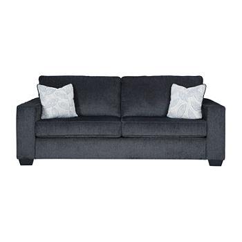 Terrific Signature Design By Ashley Altari Track Arm Sleeper Sofa Creativecarmelina Interior Chair Design Creativecarmelinacom