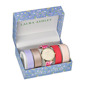 Laura Ashley Womens Gold Tone Bracelet Watch - Lass1101yg