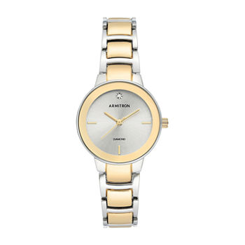 Armitron Womens Two Tone Bracelet Watch - 75/5594svtt