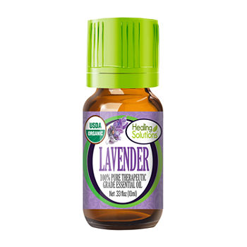 Healing Solutions Organic Lavender Essential Oil