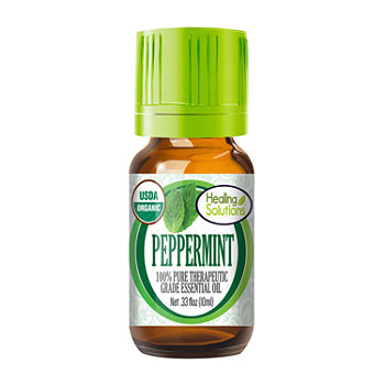 Healing Solutions Organic Peppermint Essential Oil