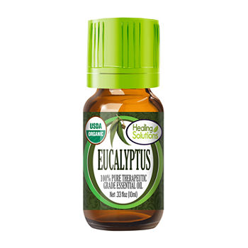 Healing Solutions Organic Eucalyptus Essential Oil