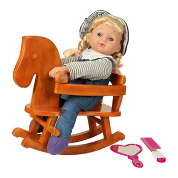 Kid Concepts Rocking Horse Doll Set
