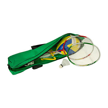 Volleyball And Badminton Combo Set