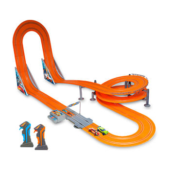 Hot Wheels Kidz Tech Zero Gravity Slot Track Set
