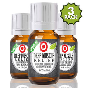 Healing Solutions Deep Muscle Relief Blend Essential Oil
