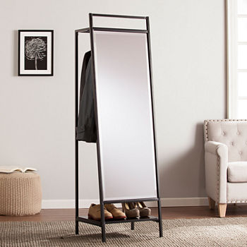 Drake Mirrored Hidden Coat Rack