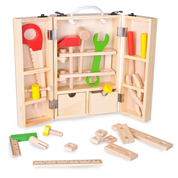 Classic Toy Wooden Carpenter Tool Set