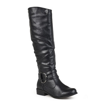 98c8a9273648 Journee Collection Buckle All Boots for Shoes - JCPenney