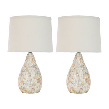 Safavieh Lauralie 20.5 In H Set Of 2 2-pc. Lamp Set