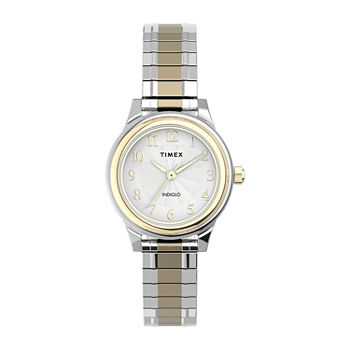 Timex Womens Two Tone Stainless Steel Expansion Watch-Tw2u09200jt