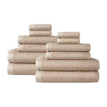Home Expressions Solid 12-pc. Solid Bath Towel Set