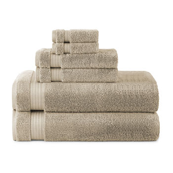 Linden Street Organic 6pc Bath Sheet Set