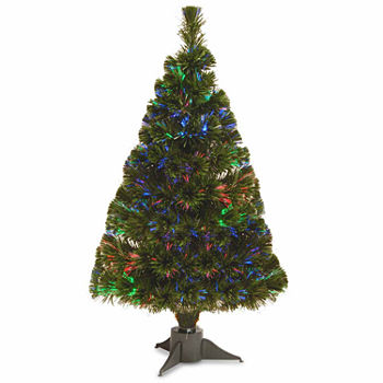 48 - Battery Operated Christmas Trees