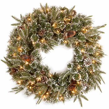 Garlands wreaths holiday decor for the home jcpenney mozeypictures Gallery