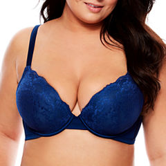 Boutique + Underwire Plunge Push Up Bra