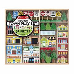 Melissa & Doug® Wooden Town Play Set