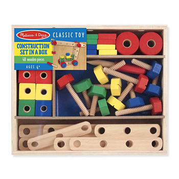 Melissa & Doug Construction Set In A Box Set