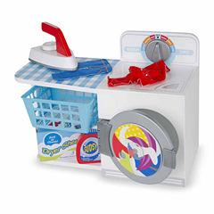 Melissa & Doug® Let's Play House! Wash, Dry & Iron