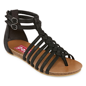 bd73f9724535e Pop Gladiator Sandals Juniors  Sandals   Flip Flops for Shoes - JCPenney