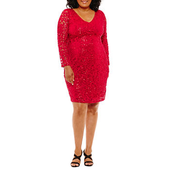 5f167fb981 Plus Size Party Dresses for Women - JCPenney