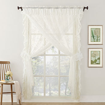 Lace Beige Curtains Drapes For Window