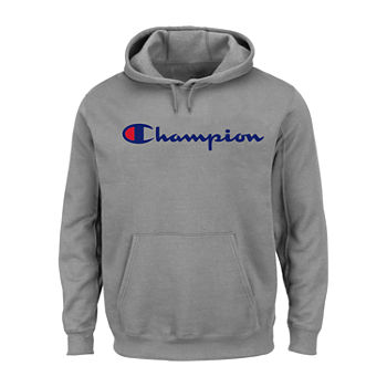 Champion Long Sleeve Jersey Hoo And Tall